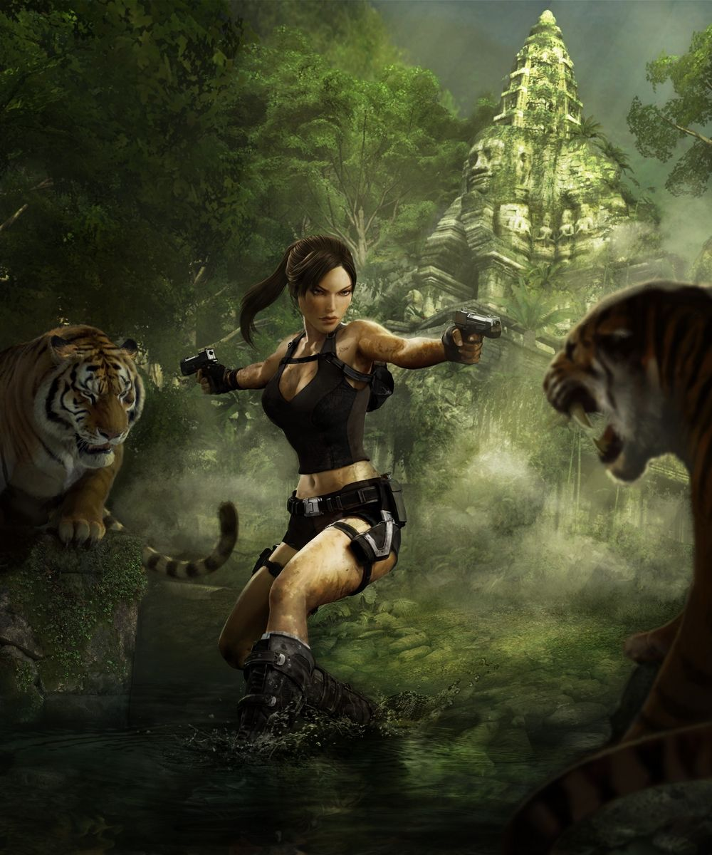 Tomb Rider Wallpaper: Lara Croft